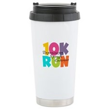 10K Run Multi-Colors Travel Mug