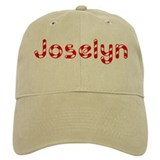 Joselyn - Candy Cane Baseball Cap