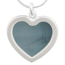 Zoe's Art Stuff Second Sailb Silver Heart Necklace