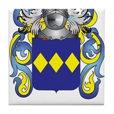 Freeborne Coat of Arms Tile Coaster