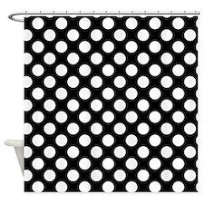 Polka Dot Shower Curtains Polka Dot Fabric Shower