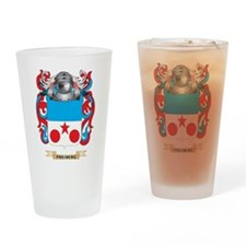 Freiberg Coat of Arms Drinking Glass