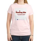 The Flaming Libs Comeback Tou Women's Pink T-Shirt