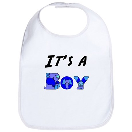 It's a BOY Bib