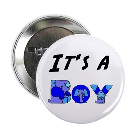 "It's a BOY 2.25"" Button (100 pack)"