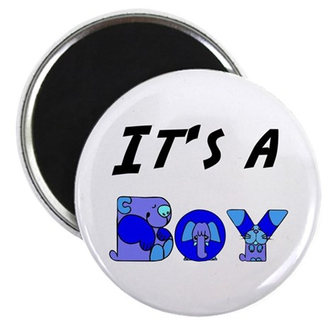 "It's a BOY 2.25"" Magnet (100 pack)"