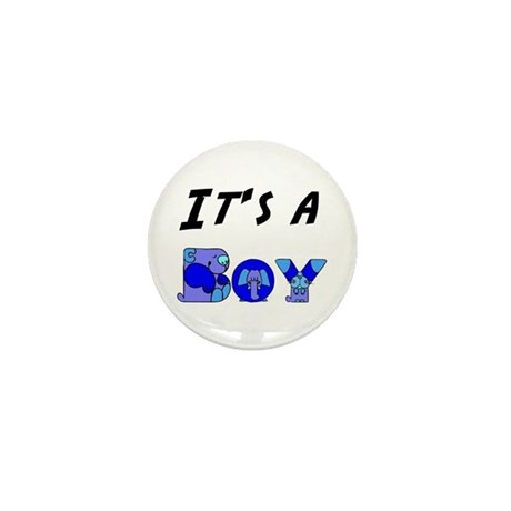 It's a BOY Mini Button