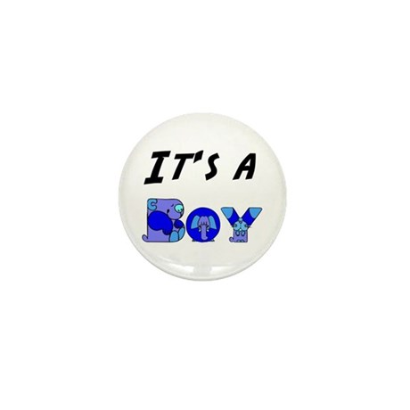 It's a BOY Mini Button (100 pack)