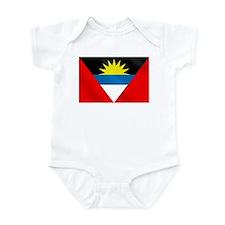 Antigua and Barbuda Flag Infant Bodysuit