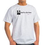 Bard to the bone Ash Grey T-Shirt