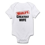 World's Greatest Wife Infant Bodysuit