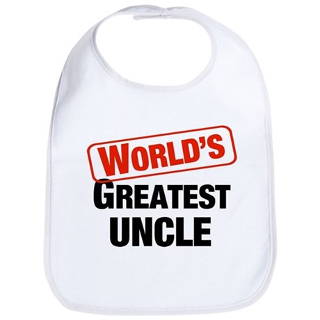 World's Greatest Uncle Bib