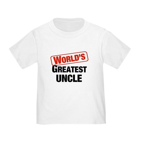 World's Greatest Uncle Toddler T-Shirt