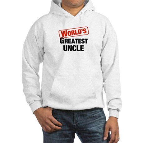World's Greatest Uncle Hooded Sweatshirt