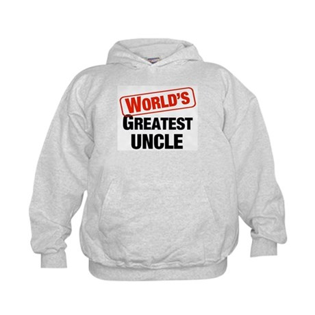 World's Greatest Uncle Kids Hoodie