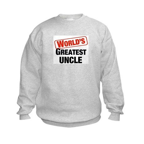 World's Greatest Uncle Kids Sweatshirt