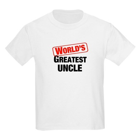World's Greatest Uncle Kids T-Shirt