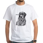 Canine Cancer Hero's White T-Shirt