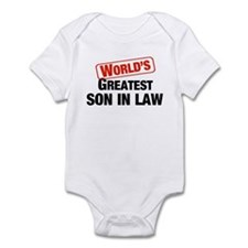 World's Greatest Son In Law Infant Bodysuit