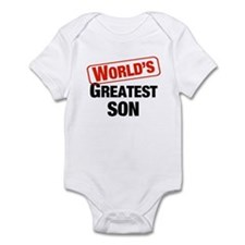 World's Greatest Son Infant Bodysuit