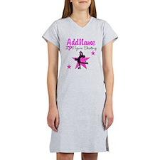 LIVE TO SKATE Women's Nightshirt