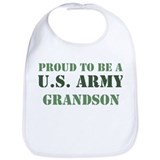 Proud Army Grandson Bib