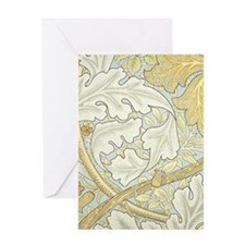 William Morris St James design Greeting Card
