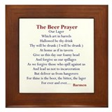 Bar Gifts, Beer Framed Tile