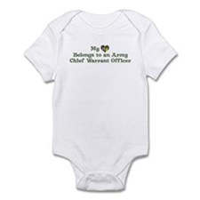 My Heart: Chief Warrant Offic Infant Bodysuit