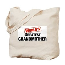 World's Greatest Grandmother Tote Bag