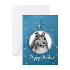 Elegant Collie Holiday Cards (Pk of 20)