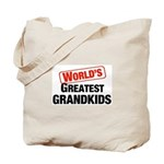 World's Greatest Grandkids Tote Bag