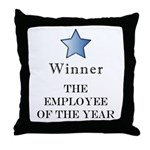 The Best Brown Nose Award - Throw Pillow