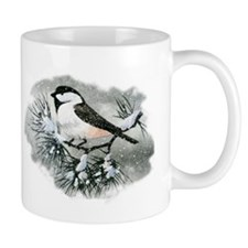Black Capped Chickadee Bird Coffee Mug