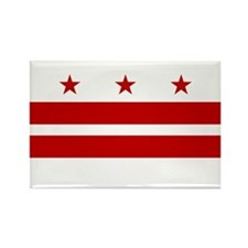 DC Flag Rectangle Magnet (10 pack)