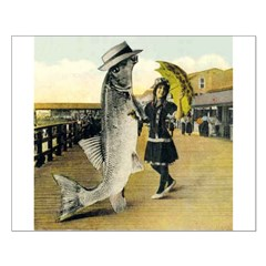 Giant Fish Small Poster