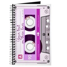 Cassette Tape - Pink Journal