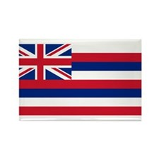 Hawaii Flag Rectangle Magnet (100 pack)