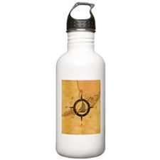 Key West Compass Rose Water Bottle