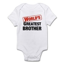 World's Greatest Brother Onesie