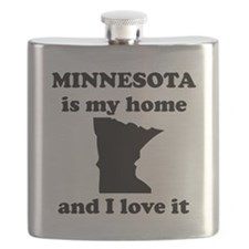 Minnesota Is My Home And I Love It Flask