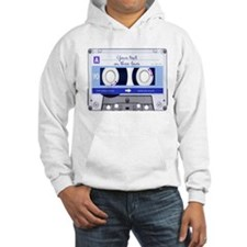 Customizable Cassette Tape - blue Hoodie