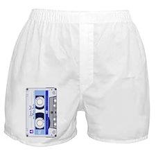 Cassette Tape - Blue Boxer Shorts