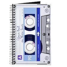 Cassette Tape - Blue Journal