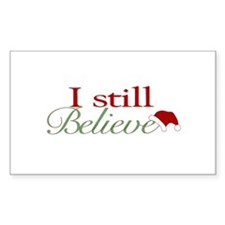 I Still Believe (Santa Claus) Rectangle Decal
