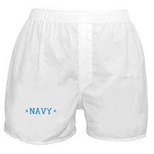 navy.png Boxer Shorts