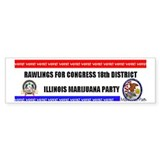 Rawlings For Congress Bumper Bumper Sticker