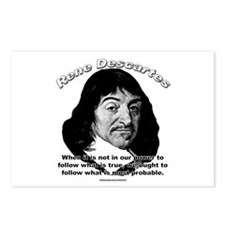 René Descartes 01 Postcards (Package of 8)