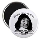 "René Descartes 01 2.25"" Magnet (10 pack)"