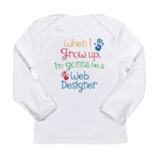 Future Web Designer Long Sleeve Infant T-Shirt